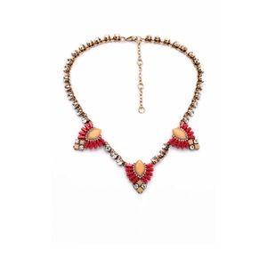Jewelry - Red Rhinestone Statement Necklace